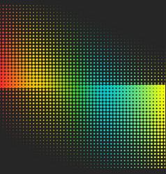 abstract colorful halftone minimalistic vector image