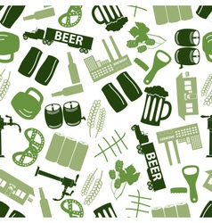 Beer icon color pattern eps10 vector