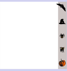 Business-card-grey-halloween vector