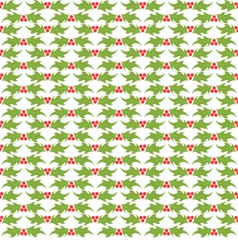 Christmas decorative pattern vector image