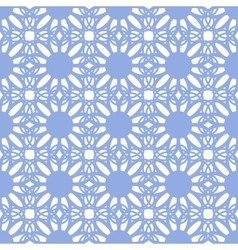 Floral seamless pattern blue color vector