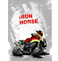 iron horse 006 vector image