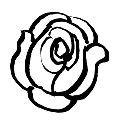 rose 1 vector image