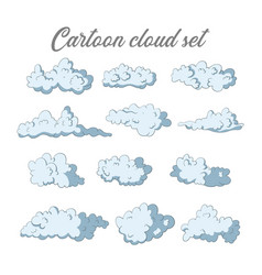 sky icon collection vector image