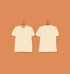 Tshirt mockup for your design vector