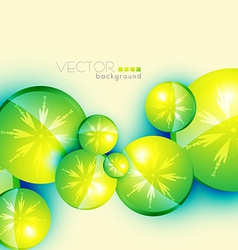 circle shape background vector image vector image