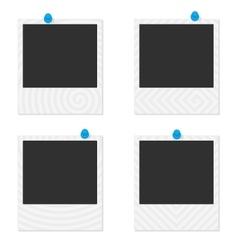 Photo frame spiral vector image vector image
