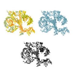 0rnament vintage decorative vector image vector image