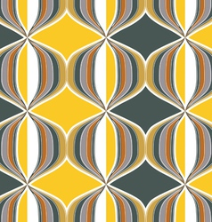 geometry ornate background vector image