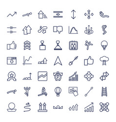 49 up icons vector