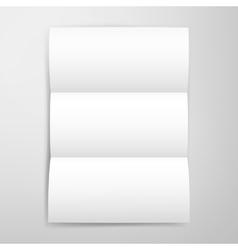 Blank Brochure Template vector image