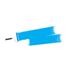 blue paint background vector image