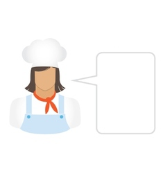 chef Cook avatars and user icons vector image