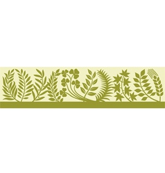 Collection leaf silhouettes-collection leaves vector