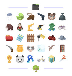 Finance weapons animal and other web icon in vector