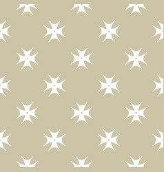 golden floral seamless luxury abstract pattern vector image