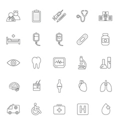 Health care and medical icon vector