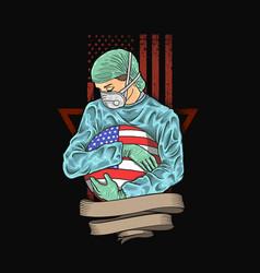Make america healthy again vector