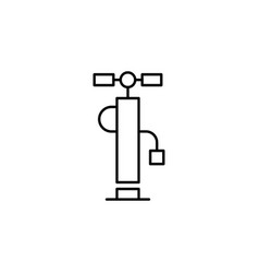 Pump wheel icon can be used for web logo mobile vector