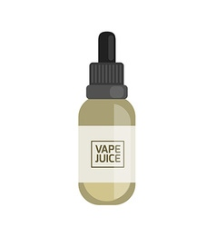 Vape Juice Icon vector image