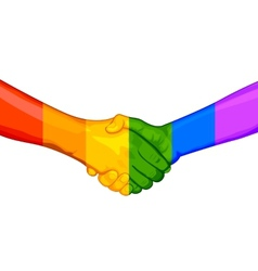 LGBT Awarness Concept vector image