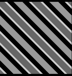tile pattern with black white and grey stripes vector image vector image