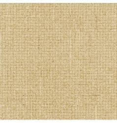 Brown rough sack texture vector image