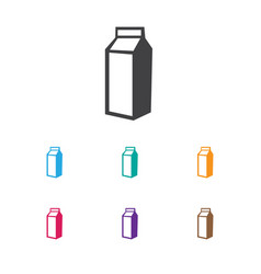 of cooking symbol on lactose vector image