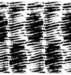 brush grunge scribble strokes seamless patternHand vector image vector image