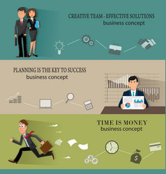 business backgrounds templates with people vector image