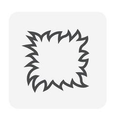 grass gardening icon vector image
