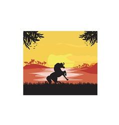 Horse design cartoon vector