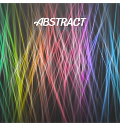 Motion Graphics Disco Light Template vector image