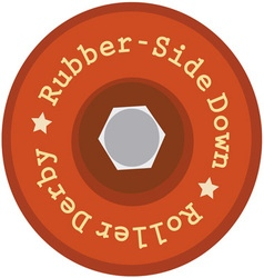 Rubber-Side Down vector