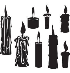Set candles vector