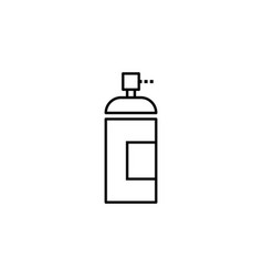Spray paint icon can be used for web logo mobile vector