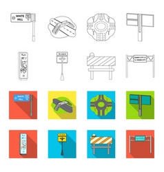 Stands and signs and other web icon in outline vector