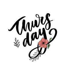thursday quotes vector images over