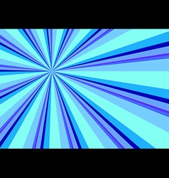 Light Ray Burst Abstract Background Blue vector image vector image