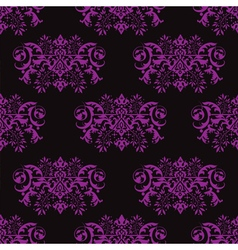 Seamless violet background vector image vector image