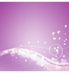 abstract soft orchid background vector image vector image