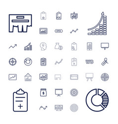 37 marketing icons vector