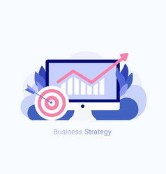 Business strategy concept vector