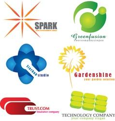 Company logos vector image