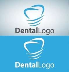 Dental logo 3 vector