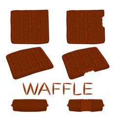 Icon logo for set various sweet vector