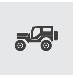 Jeep icon vector image