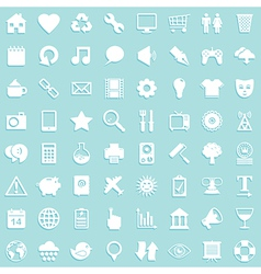 Media icon background vector