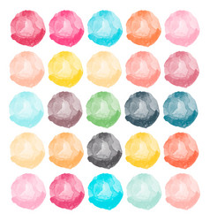 watercolors blobs vector image