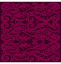 Background with hand-drawing of modern ornament vector